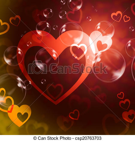 Romance clipart passion  Means Love csp20763703 of