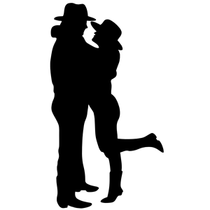 Romance clipart intimacy Couple cliparts Romantic Silhouette Silhouette