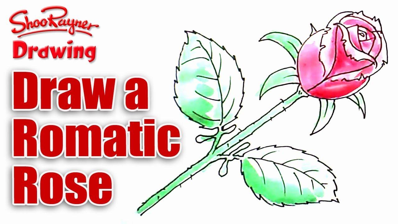 Romance clipart simple rose #9