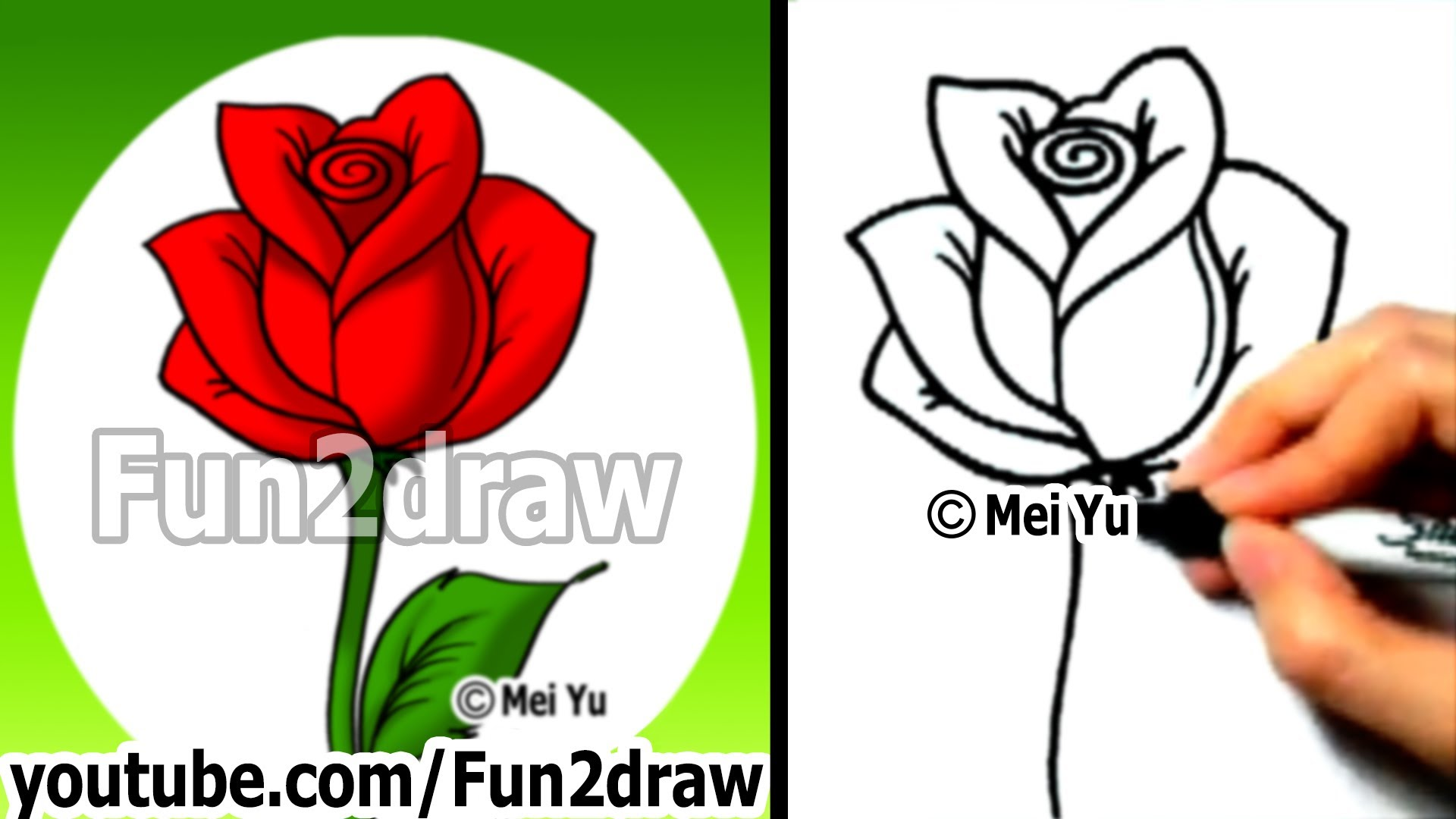 Drawn red rose new york state To How to  How
