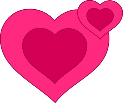 Romance clipart two heart #7