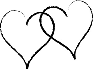 Romance clipart two heart #4