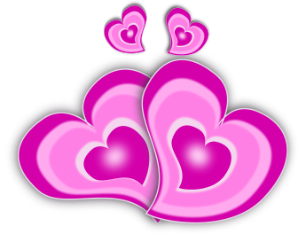 Romance clipart two heart Of Romance Clip Art Domain