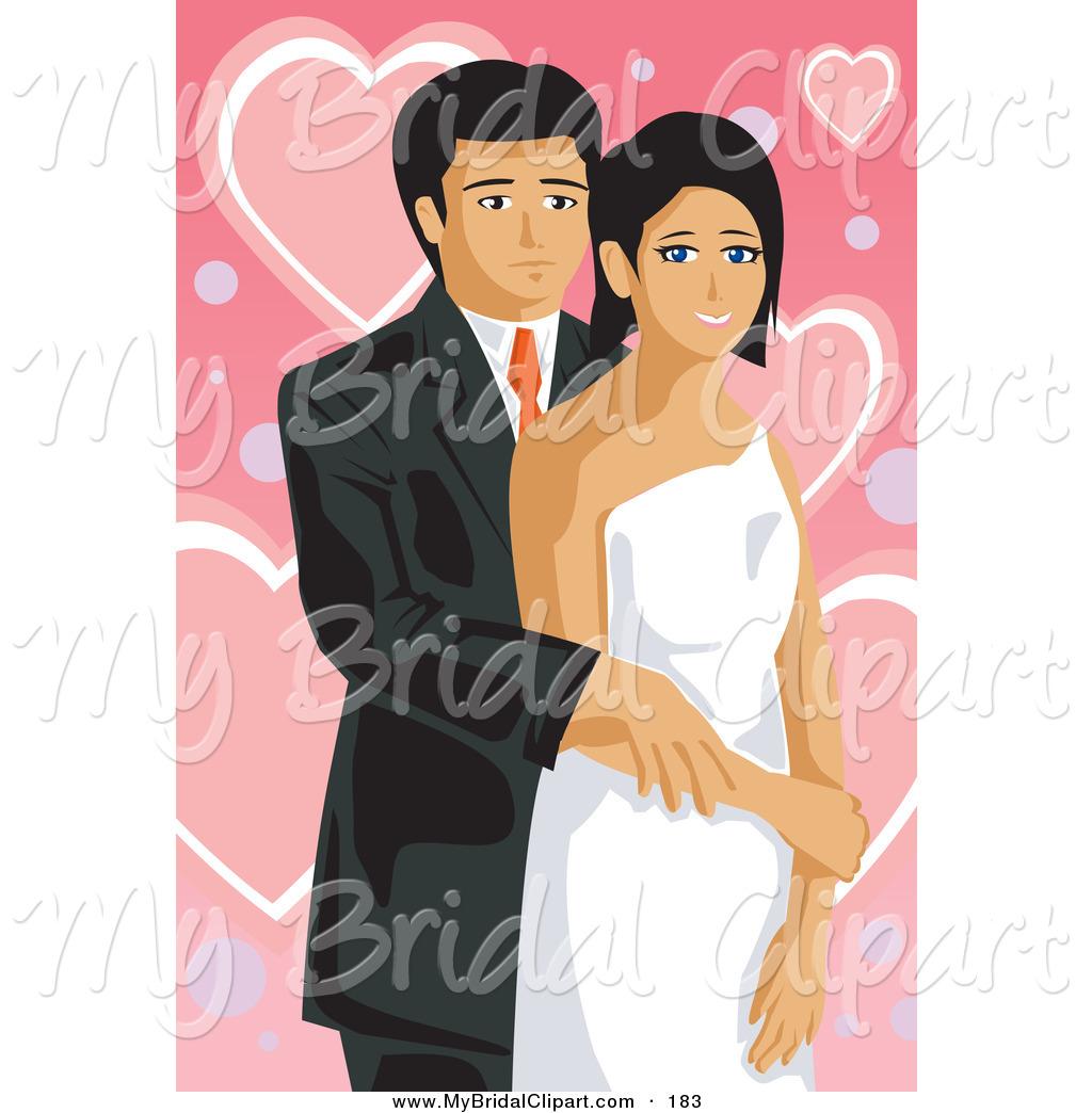 Bride clipart wedding couple #3