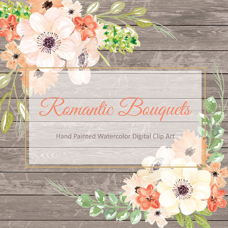Romantic clipart wedding flower #10