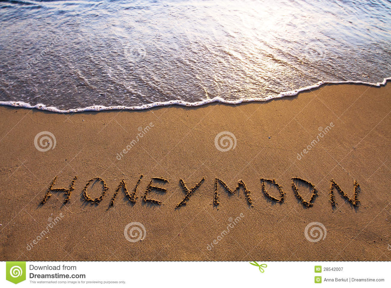 Romantic clipart honeymoon #3
