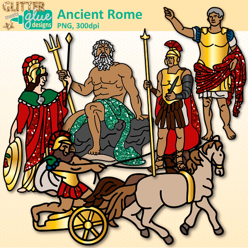 Cart clipart civilization Rome Ancient Glitter Graphics Civilization
