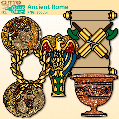 Cart clipart civilization Rome Ancient Glitter Graphics Clip