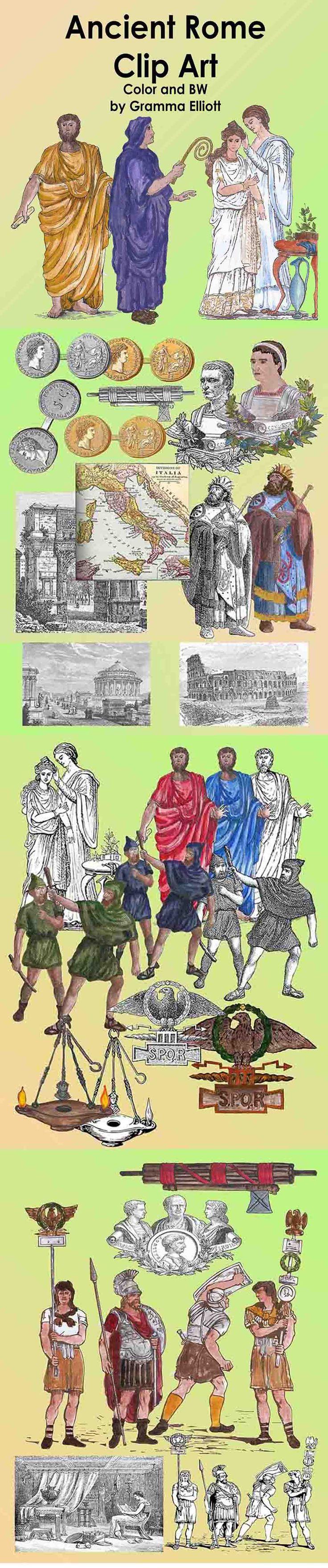 Rome clipart ancient ruin Roman best on Art BW