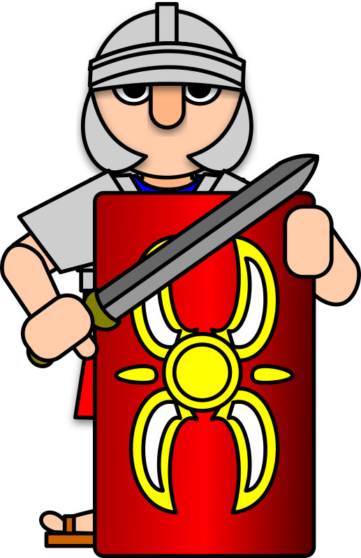 Rome clipart armour Roman Workshops armour and Scutum