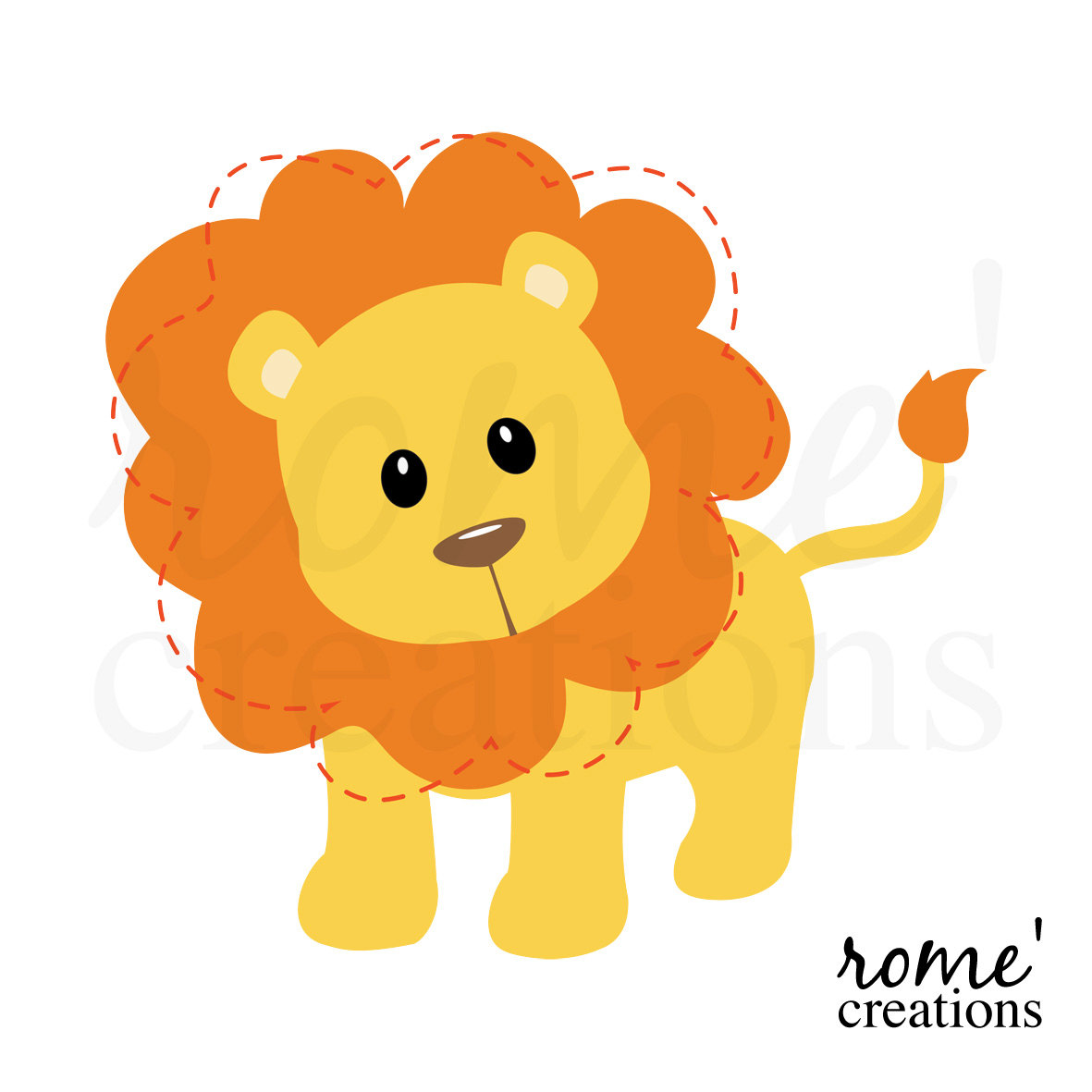 Animal clipart baby lion Free FreeClipart Clip Images Clipart