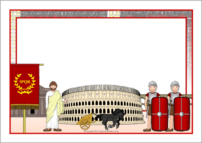 Rome clipart border #11