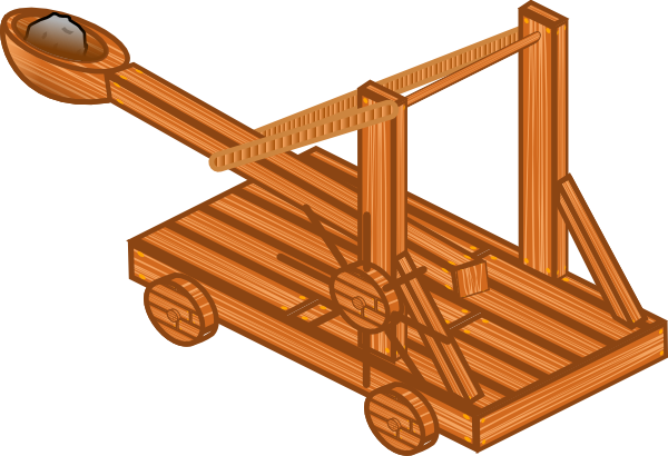 Rome clipart catapult At royalty vector Catapult com
