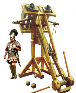 Rome clipart catapult #6