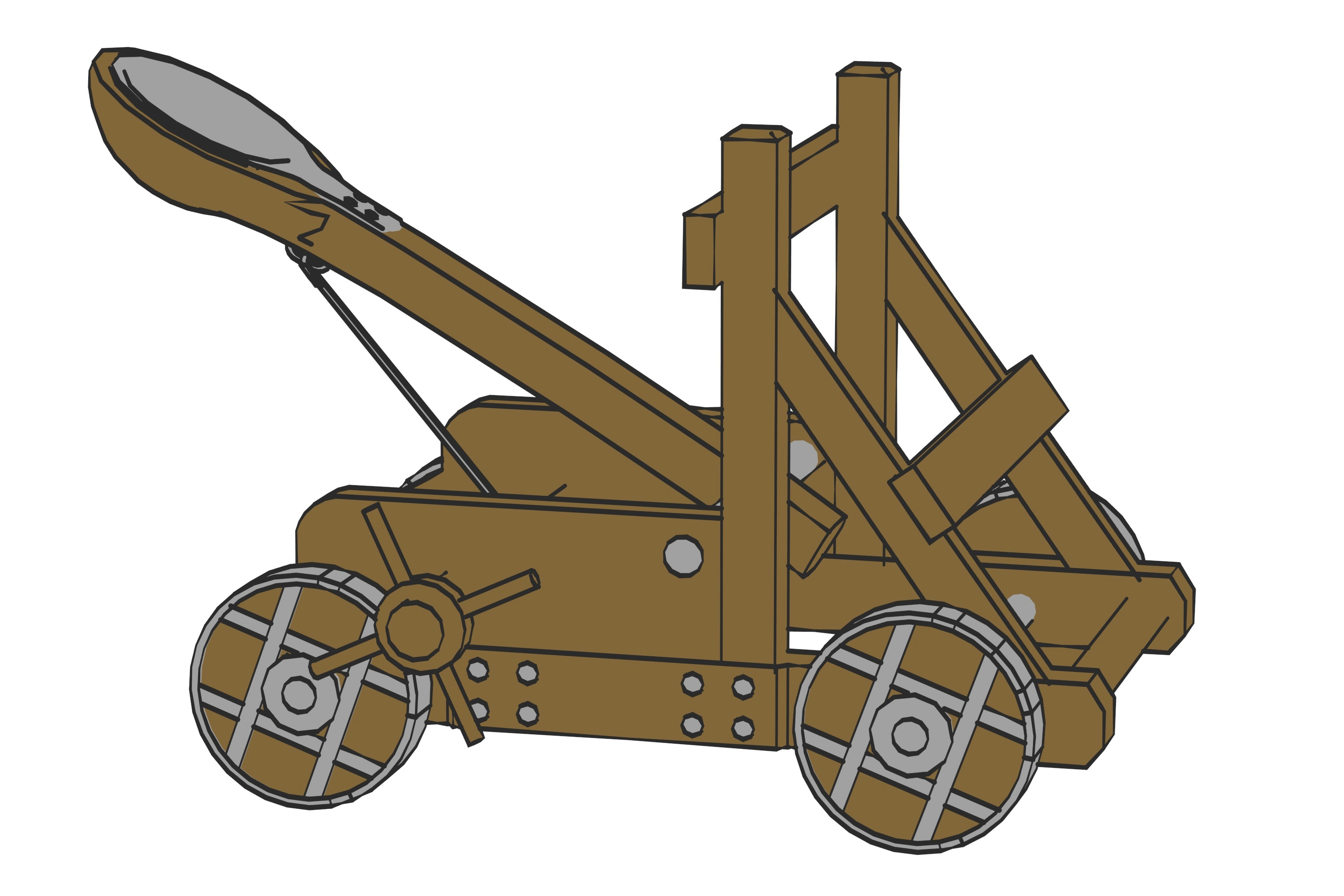 Rome clipart catapult Catapult a Does How