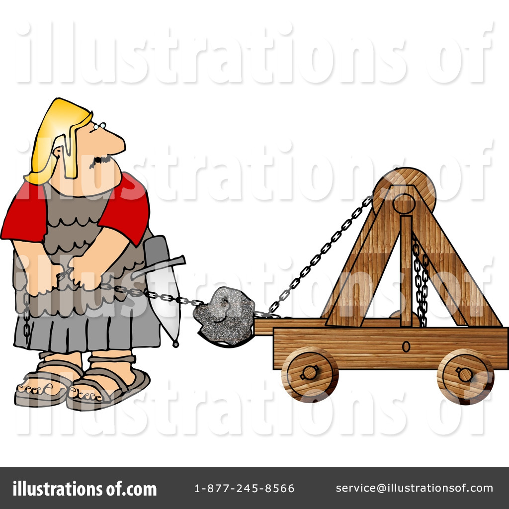 Rome clipart catapult By by Army Army Roman