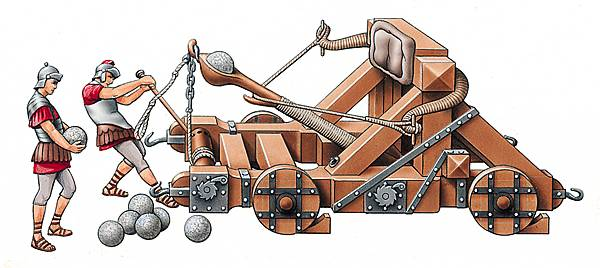 Rome clipart catapult Roman by a Archimedes on
