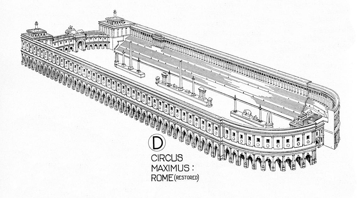 Rome clipart circus maximus #2