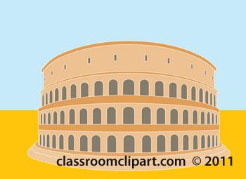 Ancient clipart colosseum #5
