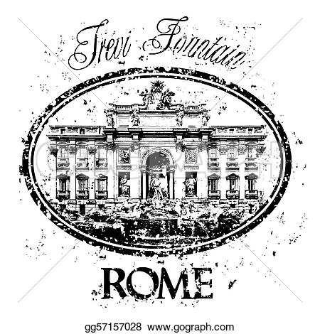 Rome clipart drawing Art stamp gg57157028 Clipart Drawing