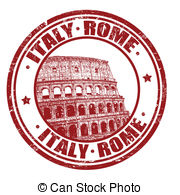 Rome clipart drawing Vector and with Rome Illustrations