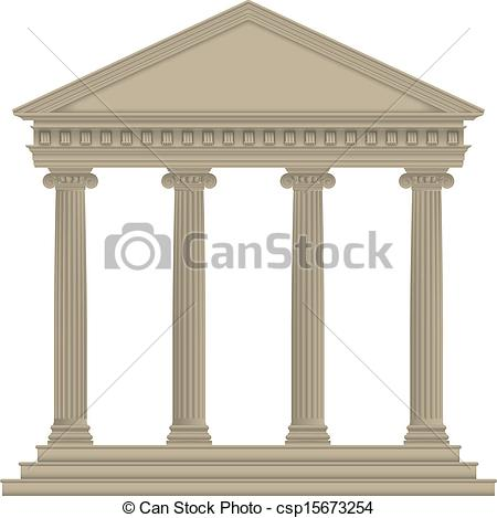 Architecture clipart greek column Clipart Roman/Greek Vector csp15673254 of