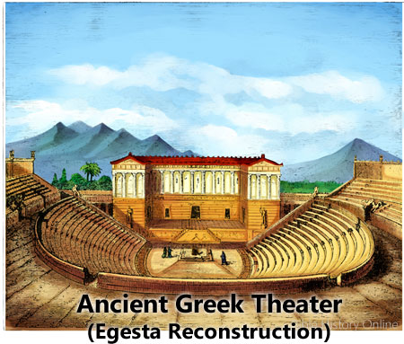 Rome clipart greek theatre Study Art Bible Theater for