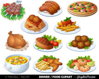 Breakfast clipart meal Clipart art Clipart Dinner Clipart