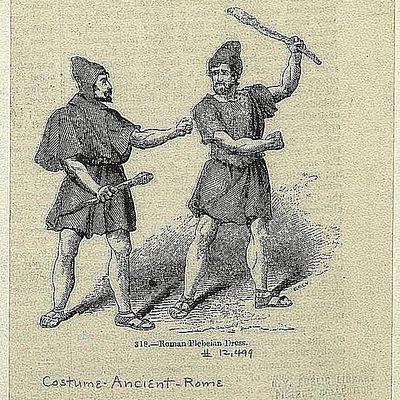 Rome clipart plebeians Conflict in Patrician Rome Plebeian