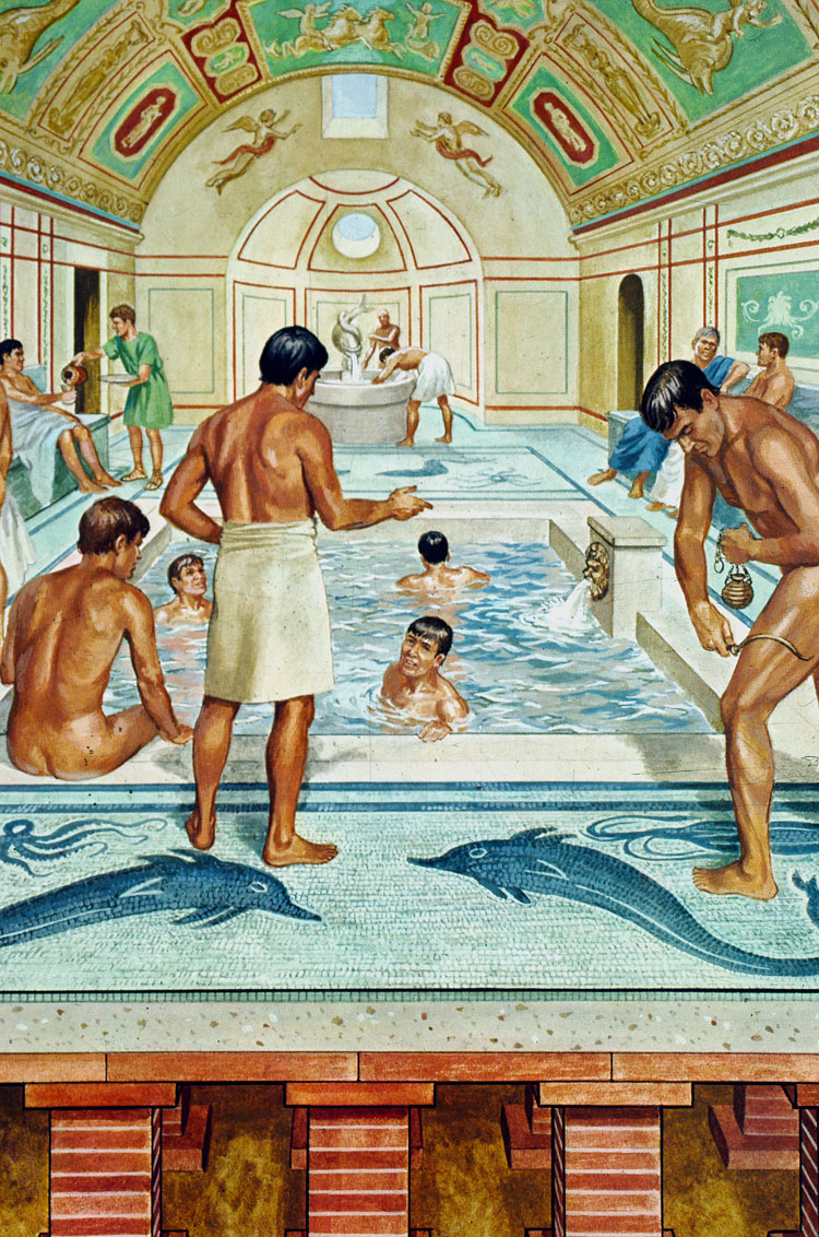 Rome clipart public baths Away found have the would