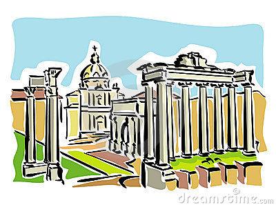 Architecture clipart roman Cliparts Forum Rome Roman Clipart