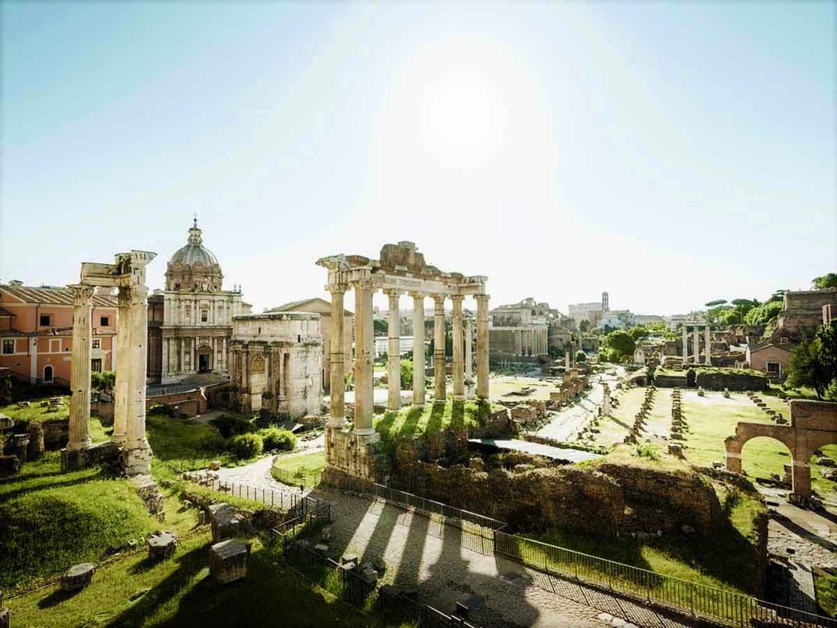 Rome clipart roman forum #7
