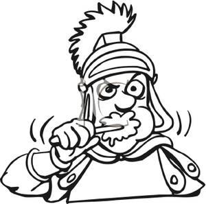 Rome clipart roman soldier #11
