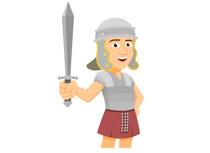 Rome clipart roman soldier #2