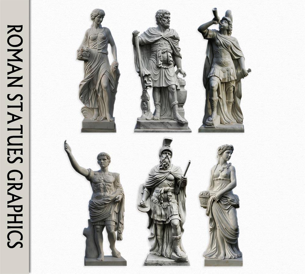 Carvings clipart roman statue Women Graphics Use Digital Rome