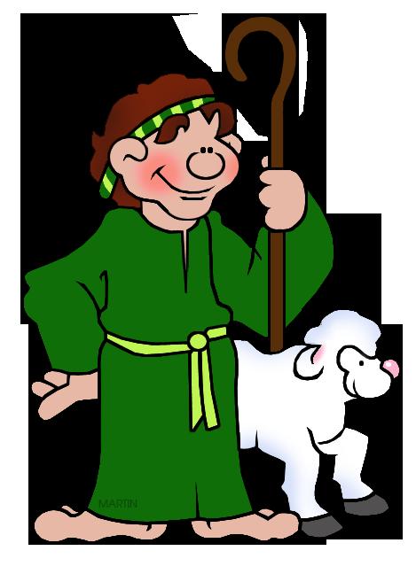 Rome clipart shepherd Shepherd Art Christmas Martin Clip