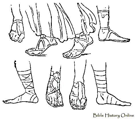 Sandal clipart roman Images 33 Ancient Line Costume