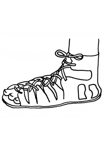 Sandal clipart roman Ancient Shoes ancient Caliga Best