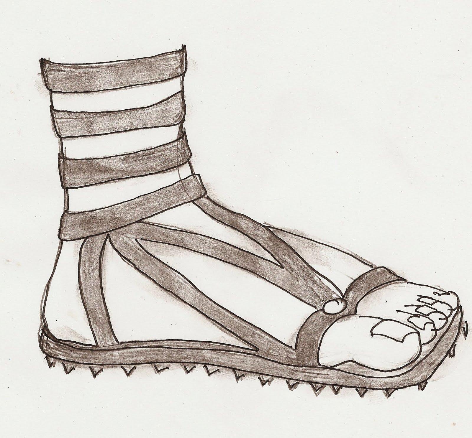 Shoe clipart armor #6