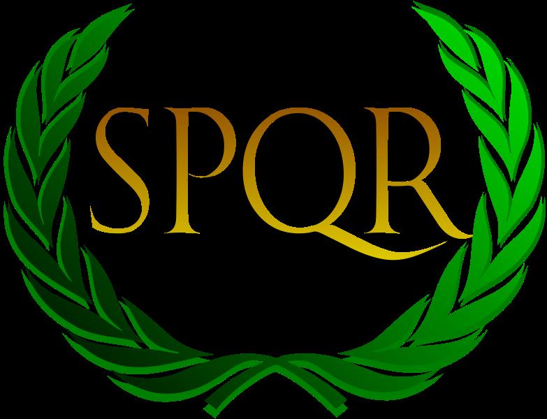 Rome clipart spqr LEGIO R Summary III Q
