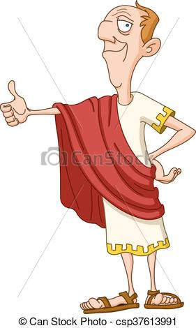 Rome clipart roman helmet Roman emperor with Vectors up