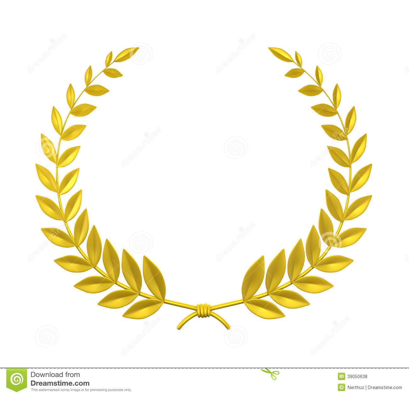 Symbol clipart funeral Gold cliparts Wreath Wreath Clipart