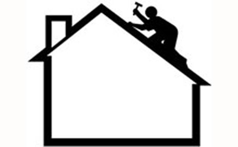 Roof clipart contractor #6