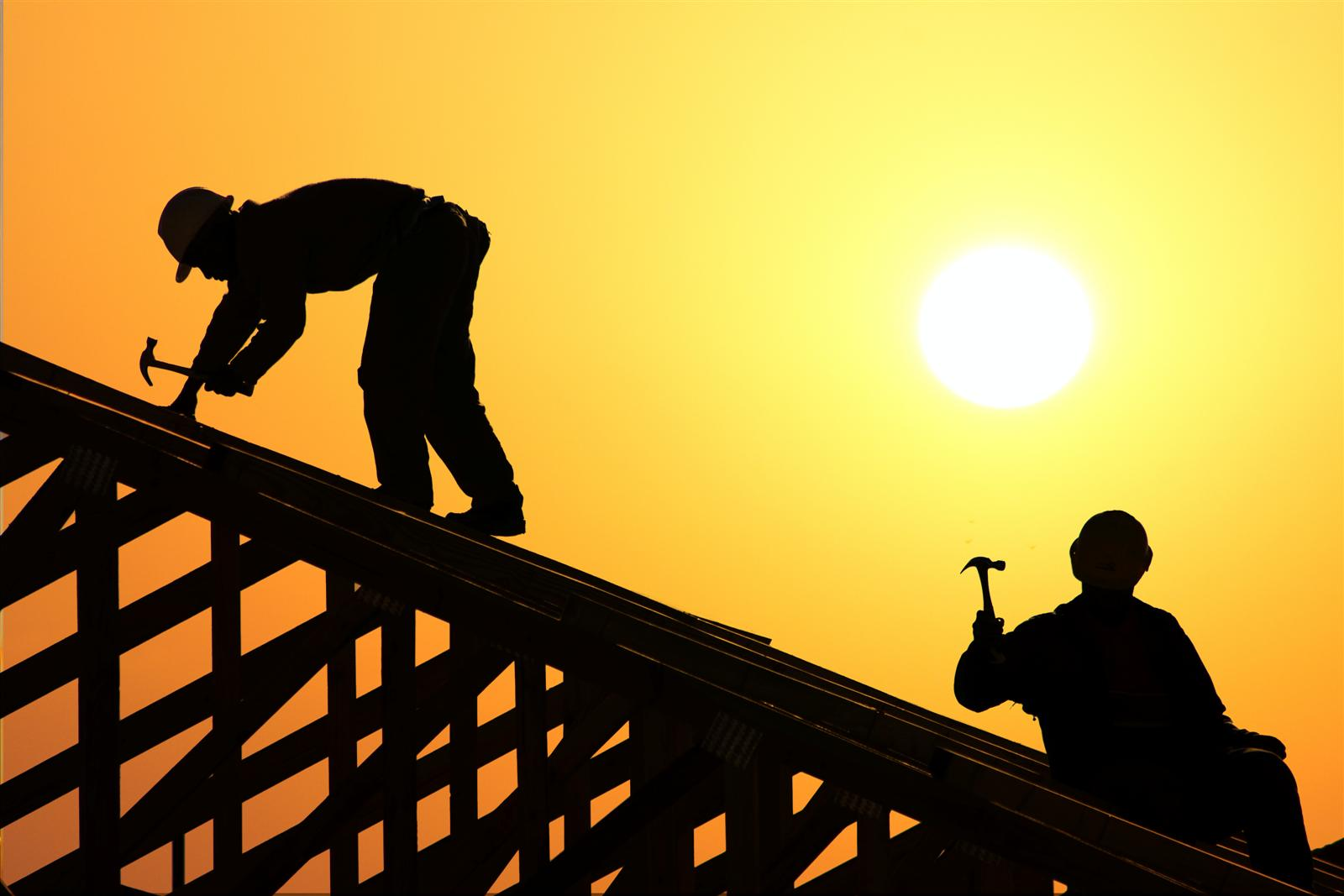 Roof clipart contractor #9