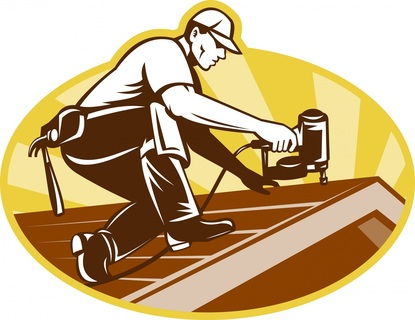 Roof clipart contractor #7