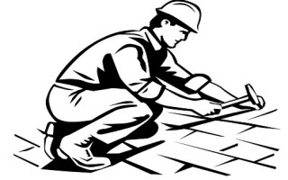 Roof clipart contractor #8