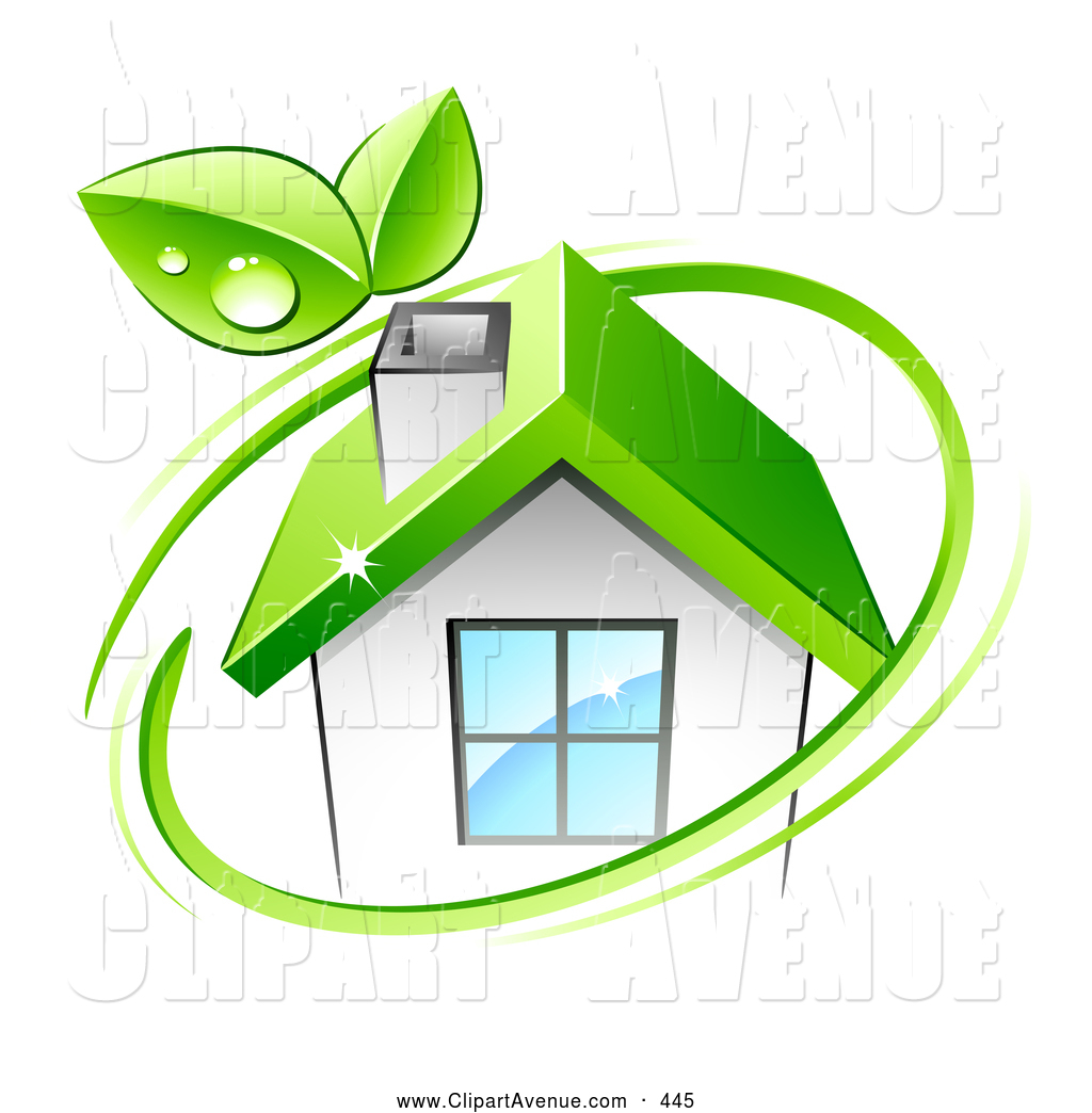 Roof clipart green roof #6