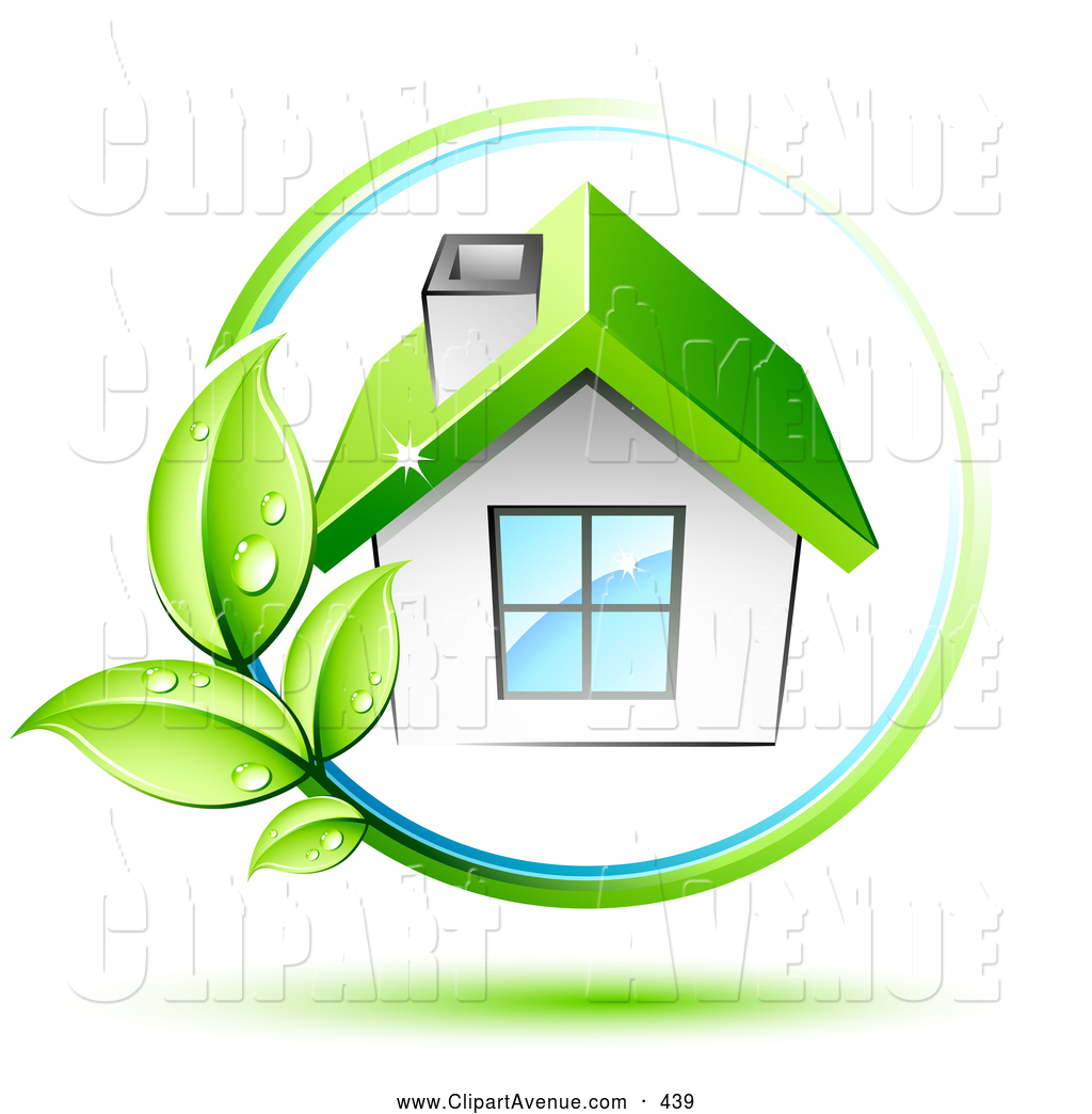 Roof clipart green roof #5