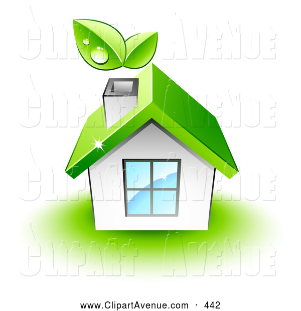 Roof clipart green roof #3