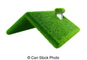 Roof clipart green roof #8